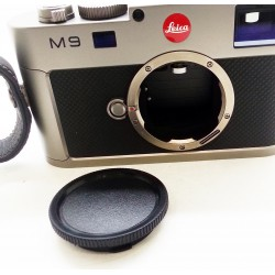 Leica M9 Steel grey Digital Rangefinder camera (used)