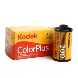 Kodak 35mm Color Plus 200 Negative Film