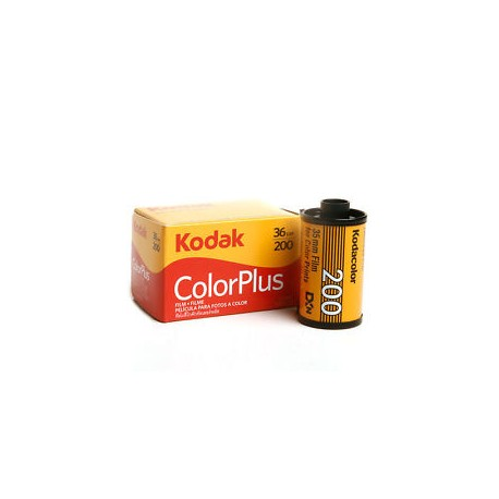 Kodak 35mm Color Plus 200 Negative Film
