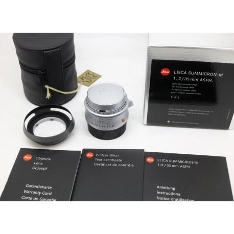 Boxed Leica Summicron M 35mm f/2 ASPH