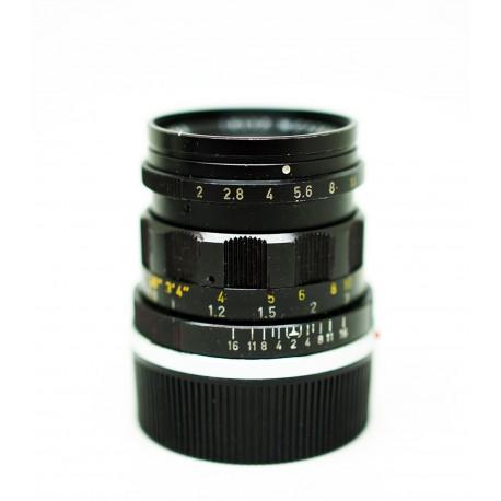 Summicron 50mm/f2 Rigid Black