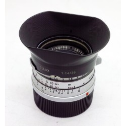 Leica Summilux 35 /f1.4 v.1 + OLLUX hood (Steel Rim)