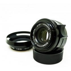 Leica Summicron-M 35mm f/2 ASPH (Black paint)