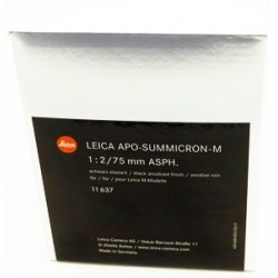Leica Summicron M 75mm f/2.0 APO Asph (brand new)