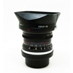 Leica Elmarit-M 28mm f/2.8 v.1 Red-Scale (9 element)