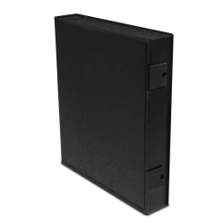 Printfile Safe-T-Binder with ring (black)