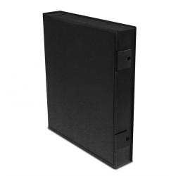 Printfile Safe-T-Binder with ring (black)