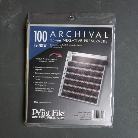 Printfile 35 7BXW 35mm 100 Sheets