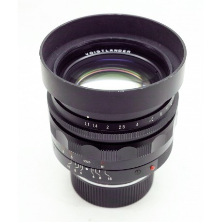 voigtlander Nokton 50mm/f1.1