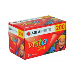 AgfaPhoto Vista plus 200 Color Negative Film (135)