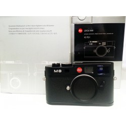 Leica M8 digital rangefinder camera Black Chrome (10701)