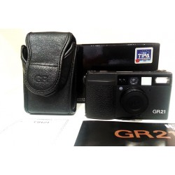 Ricoh GR21 point and shoot film camera