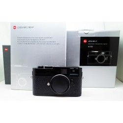 Leica M9 -P Camera Black Paint