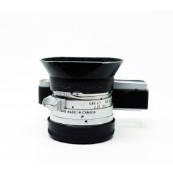 Leica Summilux 35mm/f1.4 Steel Rim +Hood + Filter