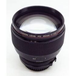 Canon FD 85mm f/1.2 L