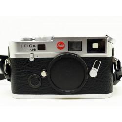 Leica M6 Camera TTL (Silver Chrome)