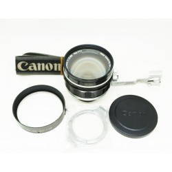 Canon Lens 50mm F/1 0.5 (Lens made in Japan)