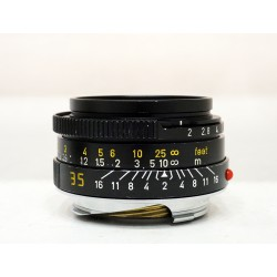 Leica Lens Summicron-M 35mm/f2 7 Element Black