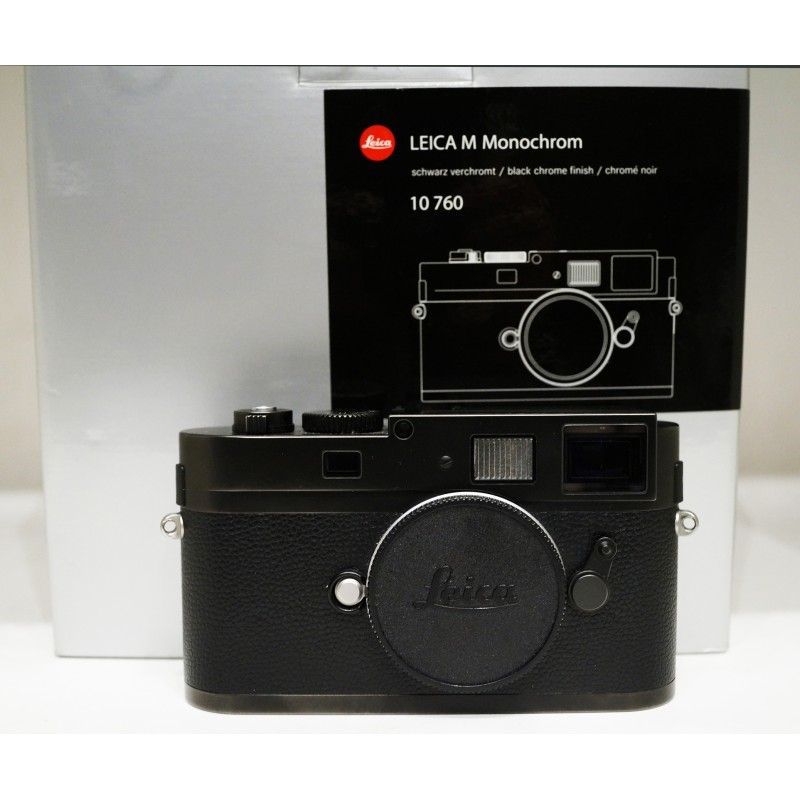 leica m monochrom digital camera black 10760 used meteor. Black Bedroom Furniture Sets. Home Design Ideas
