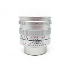 Leica Lens Summilux 50mm/f1.4 Silver
