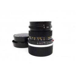 Leica Lens Summicron 50mm/f2 Black