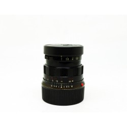 Leica Summicron-M 50mm f/2 Rigid Black paint