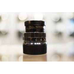 Leica Summicron-M 50mm f/2 v.2 Rigid Black paint