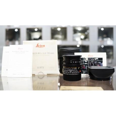 Leica Lens Summilux-M 35mm/f1.4 11873 Steel Rims