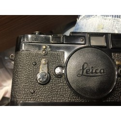 Leica M3 SS original black paint