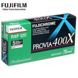 FUJICHROME PROVIA 400X RXP 120 reserve film (positive)