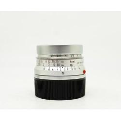 Leica Summicron 35mm/f2 silver Lens