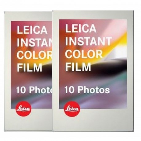 Leica Instant Color Film 2x10 photos