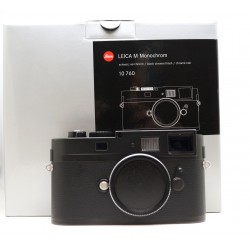 Leica Monochrom Camera Black