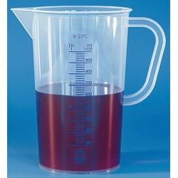 BRAND Graduated Measuring beakers 50ml with handle (+/2mL bet. 10-50mL)