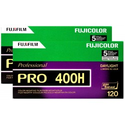 Fujifilm Professional PRO 400H Color Negative Film 120
