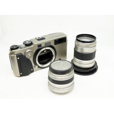 FujiFilm Camera TX 1 With Two Lens Fujinon Super EBC 45mm/f1.4 & Super EBC 90mm/f1.4