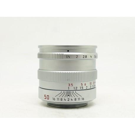 Leica Summilux 50mm/f1.4 PRE A (SLV) LTM