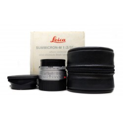 Leica Summicron 35mm/f2 Silver 11311