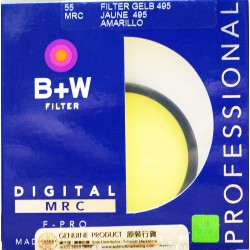B+W 39 XO.5 MRC 022M Filter Gelb Yellow 23705