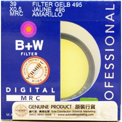 B+W 55 MRC 022M Filter Gelb Yellow 495 45918