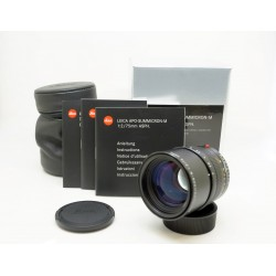 Leica APO-Summicron-M 75mm f/2 ASPH (used)