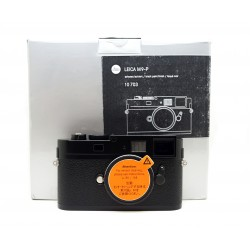 Leica M9-P Black Paint digital rangefinder camera