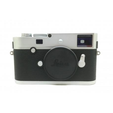 Leica M-P 240 digital rangefinder Camera Silver (10772)