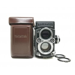 Rolleiflex 2.8F Planar White face TLR Camera