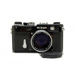 Nikon S3 Limited Edition Black Paint with 50mm f/1.4 lens