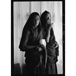 楊延康 (Yang Yankang)作品 - 15 吹法螺的两位僧人 青海2007