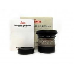 Leica Summilux -M 35mm/f1.4 (11860)Titanium