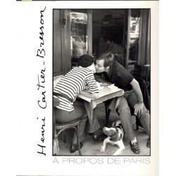 Henri Cartier-Bresson - A Propos De Paris