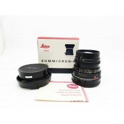 Leica Summicron-M 50mm f/2.0 v.4 tab ver. (tiger claw) Full set