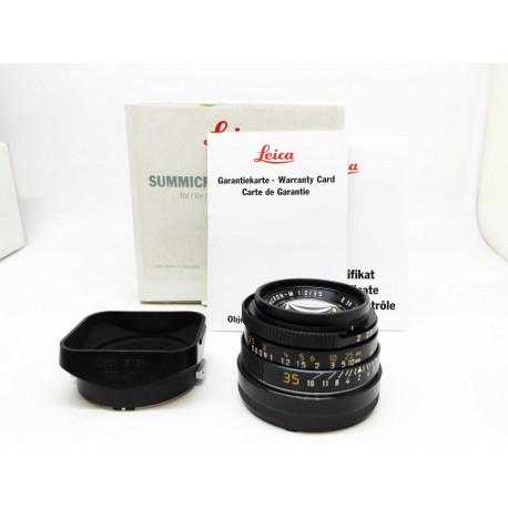 Leica Summicron-M 35mm/f2 8 Element